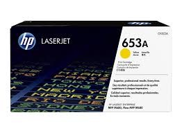 Brand New Original HP 653A CF322A Yellow Toner Cartridge Color LaserJet Enterprise MFP M680z, M680dn, M680f