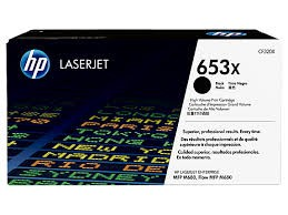 Brand New Original HP 653X CF320X Black High Yield Toner Cartridge Color LaserJet Enterprise MFP M680z, M680dn, M680f