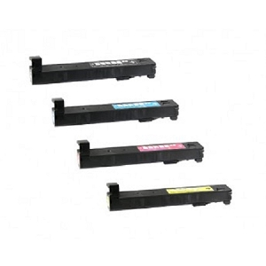 4 Pack HP 826A Color LaserJet Enterprise M855 Compatible Toner Cartridges