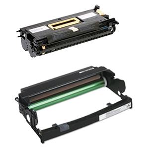 2 Pack LEXMARK / IBM Infoprint 1412, 1412N, 1512, 1512N Laser Toner Cartridge and Drum Unit