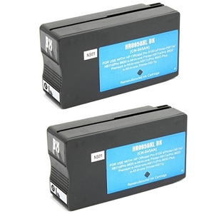 2 Pack HP 950XL CN045AN Black Compatible High Yield Inkjet Cartridge OfficeJet Pro 8600 Plus 8600 Premium 8600A  8610  8615 8620  8625  8630