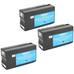 3 Pack HP 950XL CN045AN Black Compatible High Yield Inkjet Cartridge OfficeJet Pro 8600 Plus 8600 Premium 8600A  8610  8615 8620  8625  8630