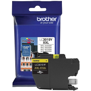 Brother LC3019 Brand New Original LC3019Y-OEM Yellow Extra High Yield Ink Cartridge MFC-J6530DW, J5330DW, J6730DW, J6930DW