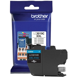 Brother LC3019 Brand New Original LC3019C-OEM Cyan Extra High Yield Ink Cartridge MFC-J6530DW, J5330DW, J6730DW, J6930DW