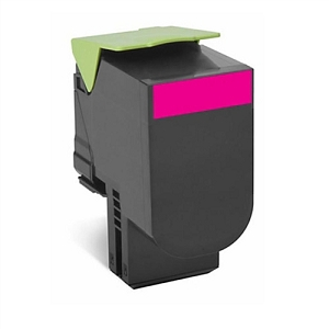 Lexmark 80C1HM0 Magenta Toner Cartridge High Yield  CX410 CX510