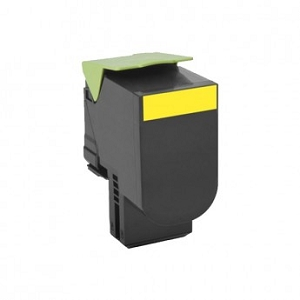 Lexmark 801S  80C1SY0 Yellow Compatible Standard Yield Toner Cartridge CX310, CX410, CX510