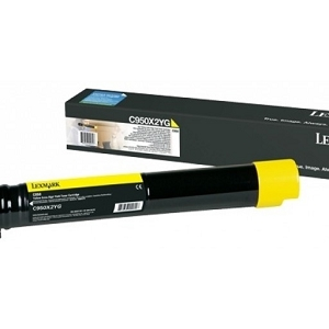 Brand New Original Lexmark C950X2YG Yellow Extra High Yield Toner Cartridge C950de
