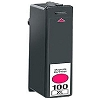 Lexmark 100XL Magenta Ink Cartridge High Yield