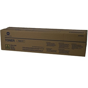 Brand New Original Konica Minolta TN611 A070230 TN-611Y Yellow Compatible Toner Cartridge Bizhub C451, C550, C650