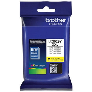 Brand New Original Brother LC3029 LC3029XXLY Yellow Extra High Yield Ink Cartridge MFC-J5830, MFC-J5930, MFC-J6535, MFC-J6935