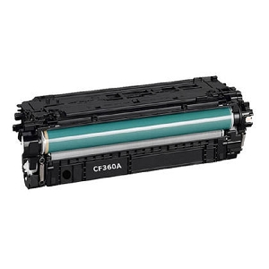 HP 508A CF360A Black Laser Toner Cartridge Color LaserJet Enterprise MFP M577, M533, M552, M553