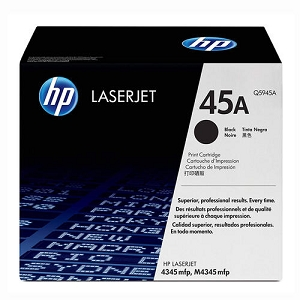 Brand New Original HP 45A Q5945A Black Toner Cartridge LaserJet 4345, M4345, M4345 MFP