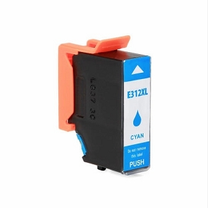 Epson T312XL T312XL220 Cyan Remanufactured High Yield Ink Cartridge Expression Photo XP-8500 HD XP-15000