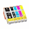 Epson 410 410XL T410XL High Yield BK/PBK/C/M/Y  5 Pack Ink For  Expression XP-530 XP-630 X-P830 XP-840
