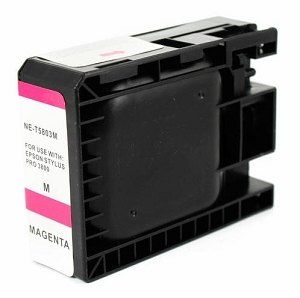 Epson T580300 Compatible Magenta Ink Cartridge Pigment