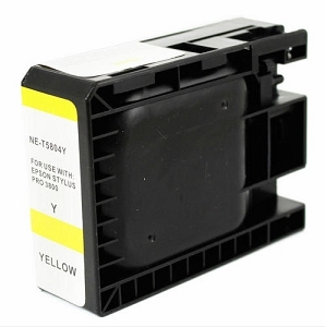 Epson T580400 Compatible Yellow Ink Cartridge Pigment