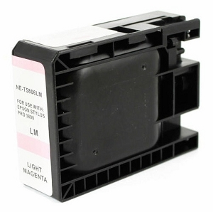 Epson T580600 Compatible Light Magenta Ink Cartridge Pigment