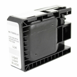 Epson T580900 Compatible Light Light Black Ink Cartridge Pigment
