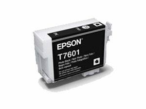 Brand New Original Epson 760 T760120 Photo Black Ink Cartridge SureColor P600 Wide Format