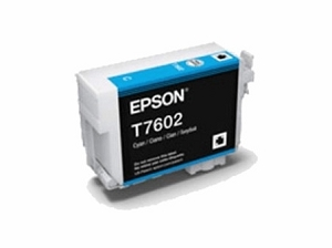 Brand New Original Epson 760 T760220 Cyan Ink Cartridge SureColor P600 Wide Format