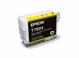 Brand New Original Epson 760 T760420 Yellow Ink Cartridge SureColor P600 Wide Format