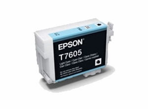 Brand New Original Epson 760 T760520 Light Cyan Ink Cartridge SureColor P600 Wide Format