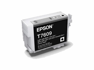 Brand New Original Epson 760 T760920 Light Light Black Ink Cartridge SureColor P600 Wide Format