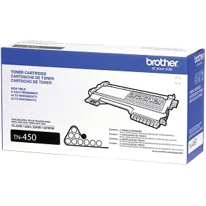 Brother TN450 Black Brand New Original Toner Cartridge