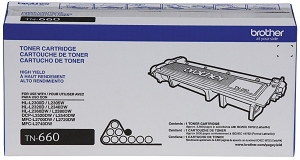 Brand New Original Brother TN660 Black Toner Cartridge