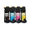 4 Pack Xerox 106R01452 106R01453 106R01454 106R01455 Compatible Laser Toner Cartridges Xerox Phaser 6128