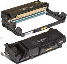 2 Pack Xerox 3330 106R03623 101R00555 Phaser 3330, Workcentre 3335, 3345 Laser Toner Cartridge and Drum Unit