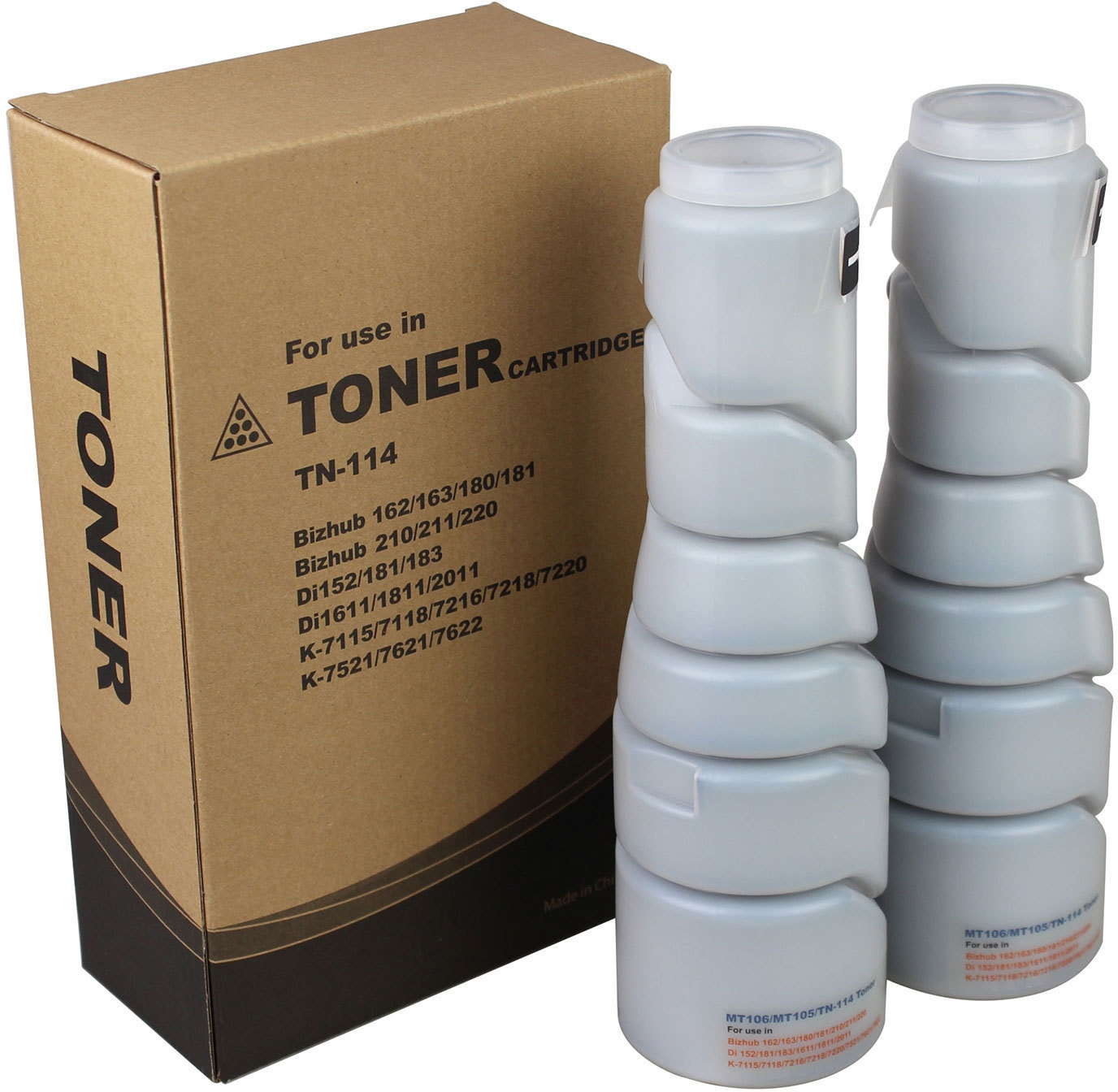 Konica Minolta 8937-782 8936-402 8936-602 8937-708 TN114  TN-114 Black Copier Toner Cartridge