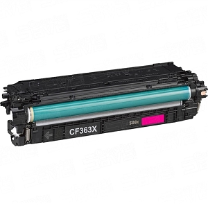 HP 508X CF363X Yellow High Yield Laser Toner Cartridge Color LaserJet Enterprise MFP M577, M533, M552, M553