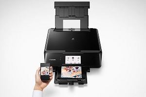 Canon PIXMA TS8120 All-In-One Color Inkjet Printer