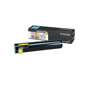 Lexmark X945X2 X945X2YG Yellow Original High Yield Toner Cartridge X940e, X945e