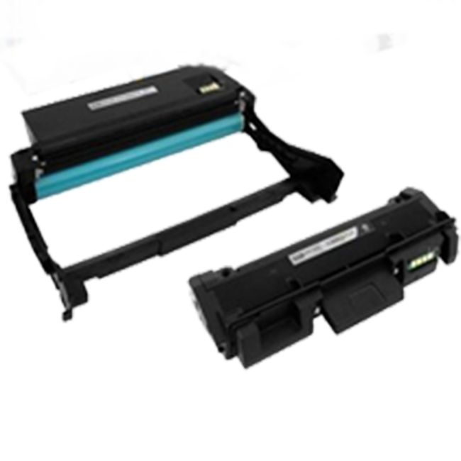2 Pack Xerox 106R02777 101R00474 Phaser 3052, 3260, WorkCentre 3215, 3225  Laser Toner Cartridge and Drum Unit