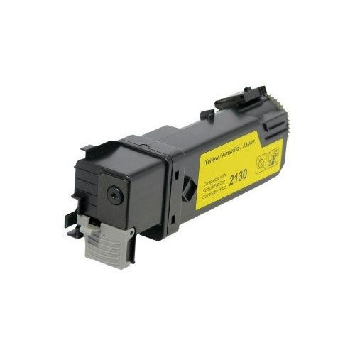 Dell 330-1438 330-1391 Yellow Laser Toner Cartridge Color Laser 2130CN, 2135CN