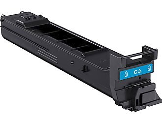 Konica Minolta A0DK432 Cyan High Yield Laser Toner Cartridge MagiColor 4650, 4690, 4695