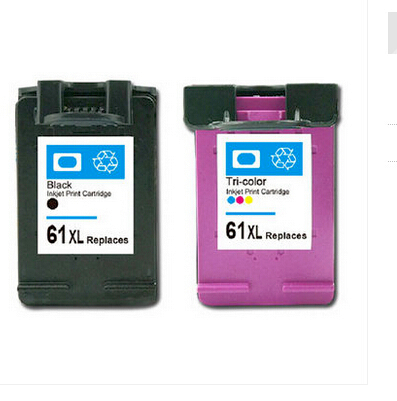 4-pk For HP61 XL Black Ink For Deskjet 3000 3050 3050A 3054A Printer Series
