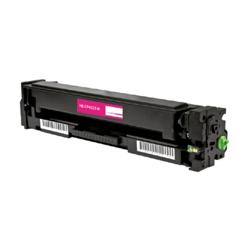 HP 201X CF403X Magenta Compatible High Yield Toner Cartridge Color LaserJet Pro M252, MFP M277