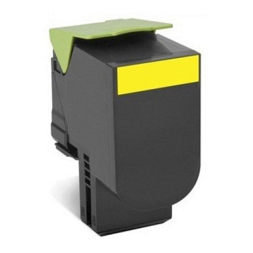 Lexmark 71B1HY0 Yellow Compatible Toner Cartridge CS417, CX417, CS517, CX517