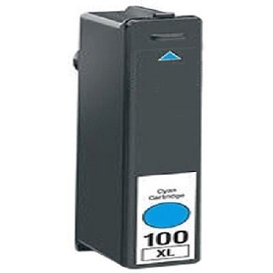 Lexmark 100XL 14N1069 14N1054 Cyan Compatible High Yield Ink Cartridge Impact S301 S305
