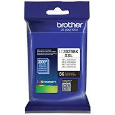 Brand New Original Brother LC3029 LC3029XXLBK Black Extra High Yield Ink Cartridge MFC-J5830, MFC-J5930, MFC-J6535, MFC-J6935