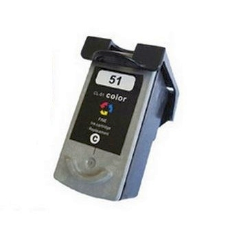 Canon CL-51 CL51 0618B002 Compatible Color High Yield Ink Cartridge