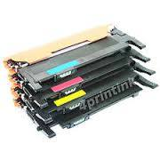 4 Pack Samsung CLT-404S CLT404S  Xpress SL-C430, SL-C480 Compatible Color Toner Cartridges