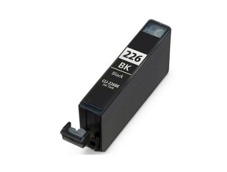 Canon CLI-226 CLI-226BK 4546B001AA Black Inkjet Cartridge Pixma iP, iX, MG, MX