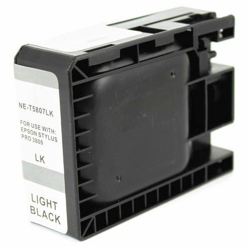 Epson T580700 Compatible Light Black Ink Cartridge Pigment