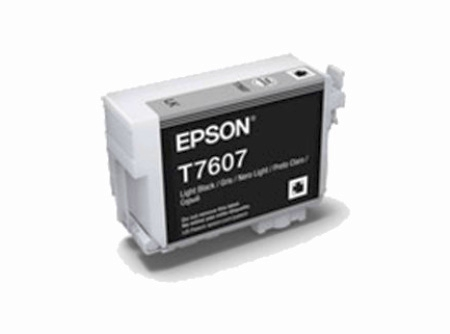 Brand New Original Epson 760 T760720 Light Black Ink Cartridge SureColor P600 Wide Format