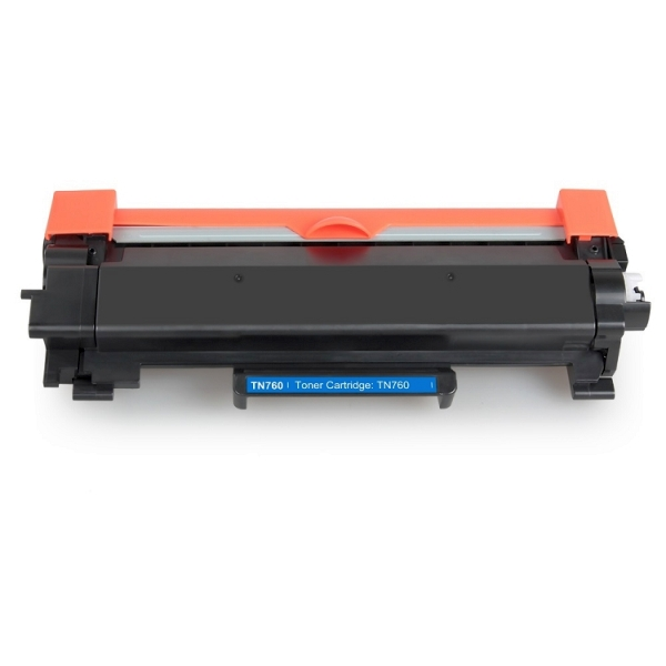 Brother TN760 TN-760 TN730 TN-730 Black High Yield Laser Toner Cartridge with Chip