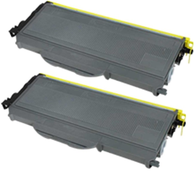 2 Pack Brother TN360 TN-360 TN 360 Black High Yield Laser Toner Cartridge